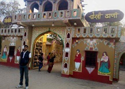 Jaipur chokhi dhani