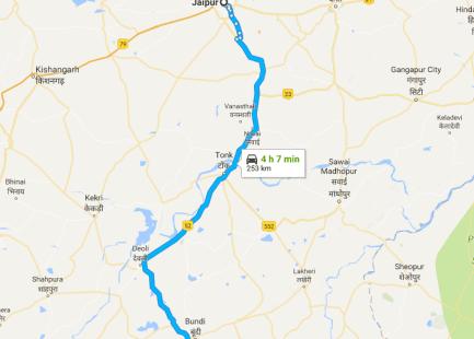 Jaipur to Kota